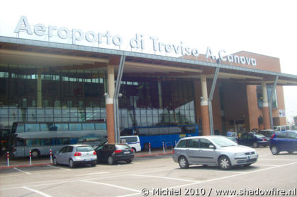 airport, Treviso, Italy, Metal Camp and Venice 2010,travel, photography