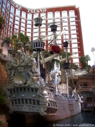 Treasure Island, The Strip, Las Vegas BLV, Las Vegas, Nevada, United States 2008,travel, photography,favorites