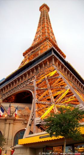 Paris panorama Paris, The Strip, Las Vegas BLV, Las Vegas, Nevada, United States 2008,travel, photography, panoramas