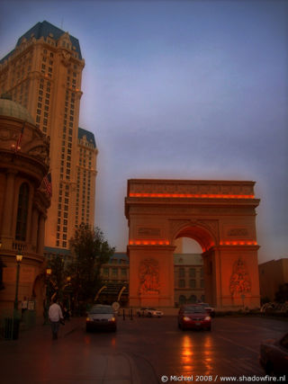 Paris, The Strip, Las Vegas BLV, Las Vegas, Nevada, United States 2008,travel, photography