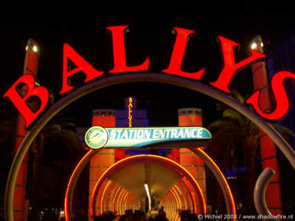 Ballys, The Strip, Las Vegas BLV, Las Vegas, Nevada, United States 2008,travel, photography