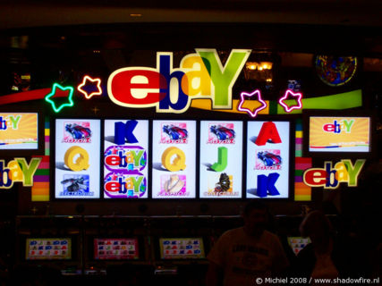 EBay machine, Flamingo, The Strip, Las Vegas BLV, Las Vegas, Nevada, United States 2008,travel, photography