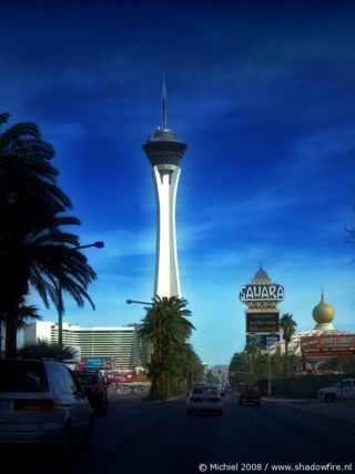 Stratosphere, The Strip, Las Vegas BLV, Las Vegas, Nevada, United States 2008,travel, photography,favorites