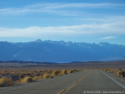 Sierra Nevada, Owens Lake, Route 190, California, United States 2008,travel, photography