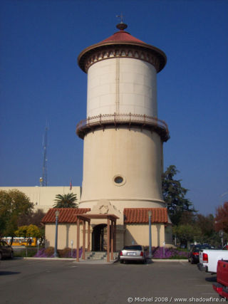 watertower, Downtown, Fresno, California, United States 2008,travel, photography