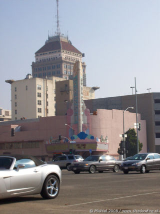 Downtown, Fresno, California, United States 2008,travel, photography
