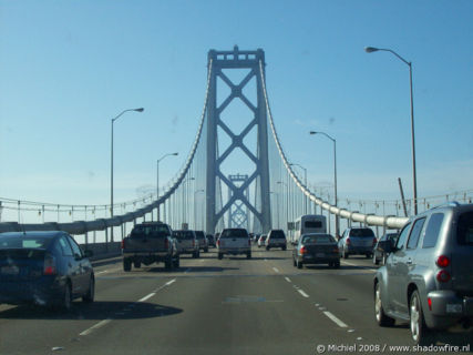Bay Bridge, Route 80, San Francisco, California, United States 2008,travel, photography