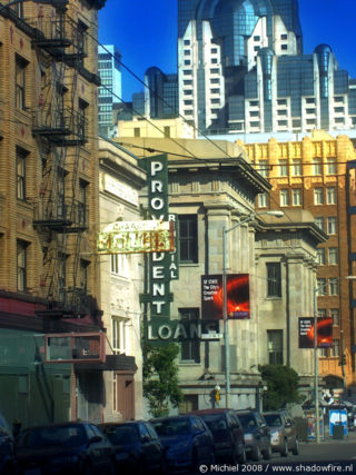 Market ST, San Francisco, California, United States 2008,travel, photography,favorites