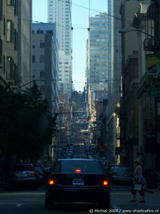 Market ST, San Francisco, California, United States 2008,travel, photography