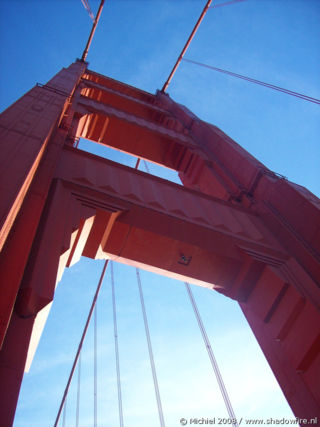 Golden Gate Bridge, San Francisco, California, United States 2008,travel, photography