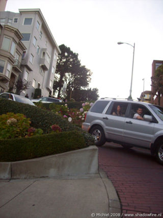 Lombard ST, San Francisco, California, United States 2008,travel, photography