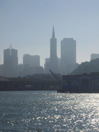 Ferry from Alcatraz, San Francisco Bay, San Francisco, California, United States 2008,travel, photography