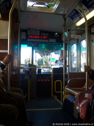 Bus, San Francisco, California, United States 2008,travel, photography