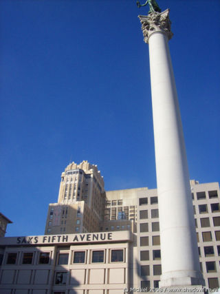 Union Square, San Francisco, California, United States 2008,travel, photography