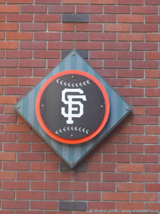 Giants,AT and T Park, baseball, stadium, San Francisco, California, United States 2008,travel, photography