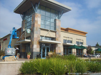 Starbucks, Silicon Valley, Mountain View, California, United States 2008,travel, photography