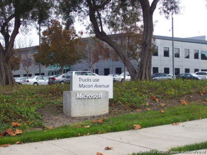 Microsoft, Silicon Valley, Mountain View, California, United States 2008,travel, photography