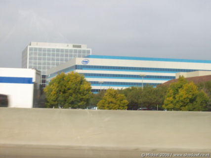 Intel, Route 101, Silicon Valley, Mountain View, California, United States 2008,travel, photography
