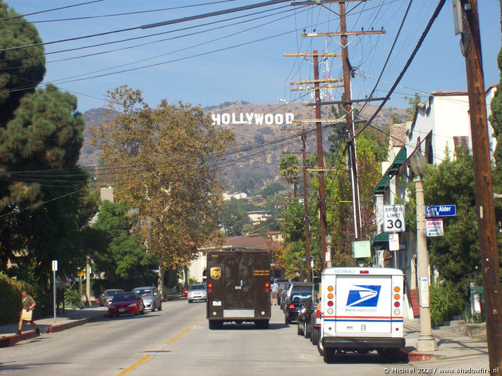 Hollywood Sign, Beachwood DRV, Hollywood, Los Angeles area, California, United States 2008,travel, photography,favorites