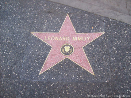 Walk of Fame, Hollywood BLV, Hollywood, Los Angeles area, California, United States 2008,travel, photography