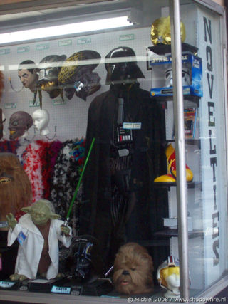 Star Wars,Dart Vader,suit, Hollywood BLV, Hollywood, Los Angeles area, California, United States 2008,travel, photography