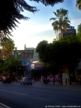 Hollywood BLV, Hollywood, Los Angeles area, California, United States 2008,travel, photography