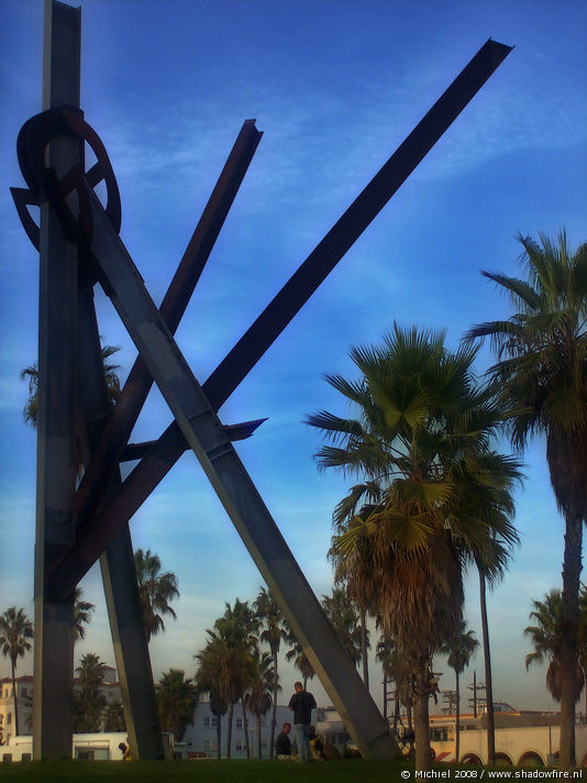Windward Plaza, Venice Beach, Venice, Los Angeles area, California, United States 2008,travel, photography,favorites