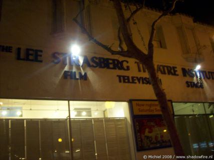 Lee Strasberg Theatre Institute, Santa Monica BLV, Hollywood, Los Angeles area, California, United States 2008,travel, photography