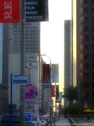 Grand AVE, Downtown, Los Angeles, California, United States 2008,travel, photography