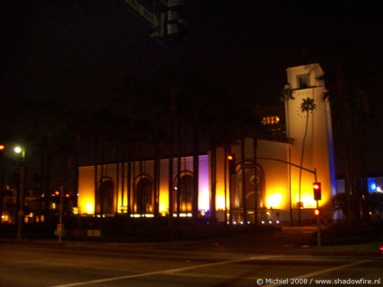 Union Station, Downtown, Los Angeles, California, United States 2008,travel, photography