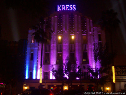 Kress, Hollywood BLV, Hollywood, Los Angeles area, California, United States 2008,travel, photography