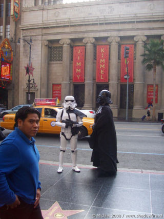 Kodak Theatre,Star Wars,Dart Vader,Stormtrooper, Hollywood BLV, Hollywood, Los Angeles area, California, United States 2008,travel, photography