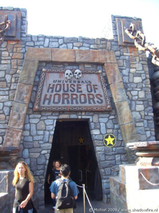 House of Horrors, Universal Studios, Hollywood, Los Angeles area, California, United States 2008,travel, photography