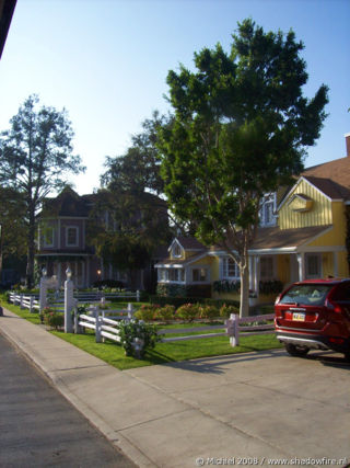 Desperate Housewives set, Studio Tour, Universal Studios, Hollywood, Los Angeles area, California, United States 2008,travel, photography