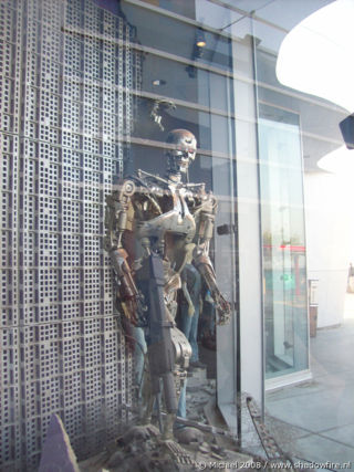 Terminator 2 3D, Universal Studios, Hollywood, Los Angeles area, California, United States 2008,travel, photography