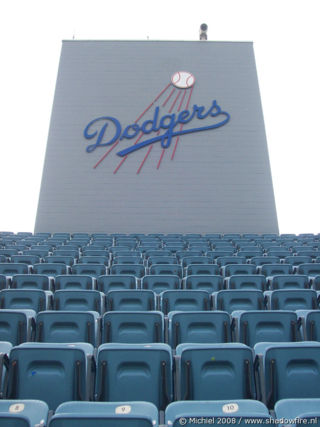 Dodgers, baseball, stadium, Los Angeles, California, United States 2008,travel, photography