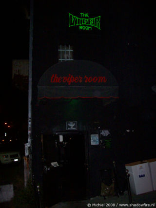 The Viper Room, Sunset BLV, Hollywood, Los Angeles area, California, United States 2008,travel, photography,favorites