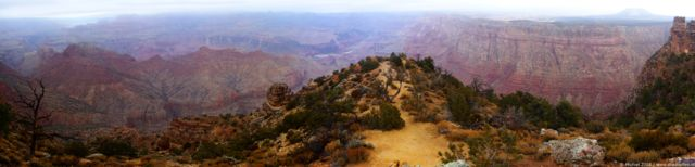 Grand Canyon panorama Grand Canyon, Desert View, South rim, Grand Canyon NP, Arizona, United States 2008,travel, photography, panoramas