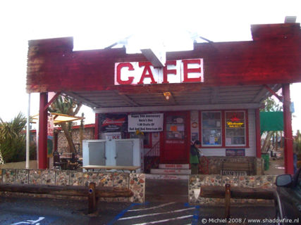 Condemned cafe Rosies Den, Route 93, Arizona, United States 2008,travel, photography