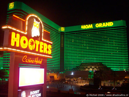 Hooters Casino, Tropicana AVE, Las Vegas, Nevada, United States 2008,travel, photography