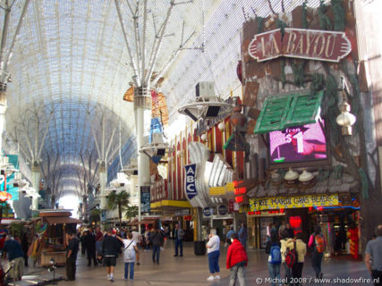 Freemont Street Experience, Downtown, Las Vegas, Nevada, United States 2008,travel, photography
