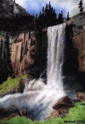 Artwork,Airbrush,Waterfall,favorites