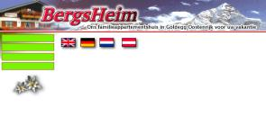 BergsHeim freelance work, websites, portfolio, html