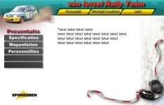 Van Iersel Rally Team ISP work, websites, portfolio, html